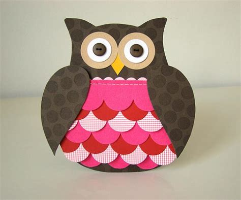 How To Make Paper Owls - paper owl craft insured by