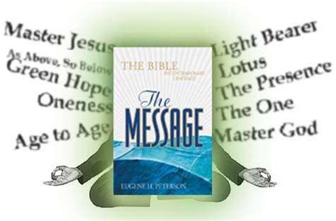 dial the truth ministries wwwav1611org other the message bible a mystic mess
