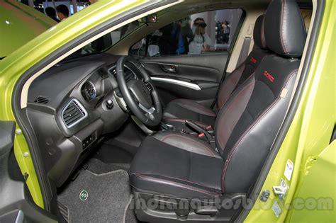 Suzuki Sx4 Seats Suzuki Sx4 S Cross Front Seats At 2014 Guangzhou Auto Show