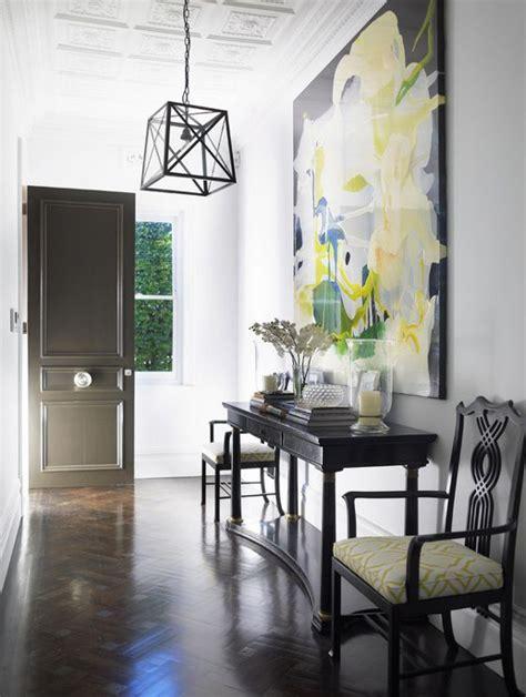 love    oversized art   entryway