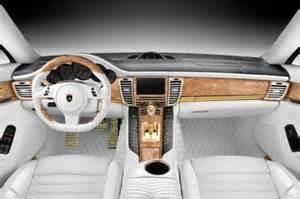 Porsche Panamera White Interior Custom Porsche Panamera Stingray Gtr