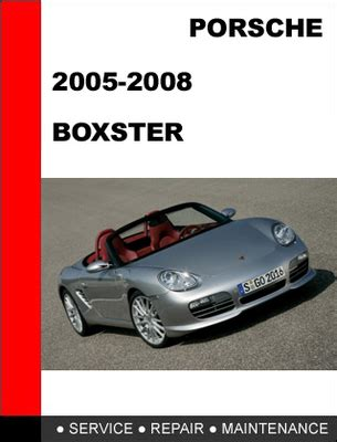 how to download repair manuals 2006 porsche boxster electronic valve timing porsche boxster 987 2005 2008 workshop service repair