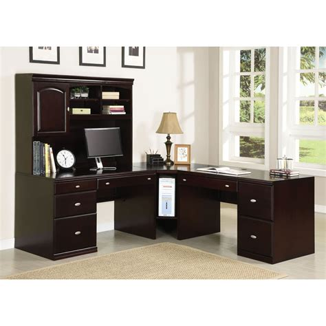 Overstock Office Desk Cape Espresso Wood Office Desk 14340204 Overstock Shopping Great Deals On Acme Desks