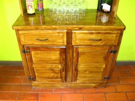 muebles rusticos buin muble bar  de cocina