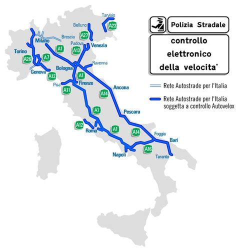 autovelox mobili autostrada mappa autovelox fissi