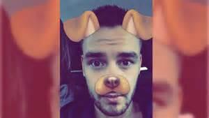 celebs       snapchat dog filter