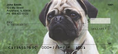 pug personal checks pug checks are just as as any pug souvenir pug collectibles pug gifts