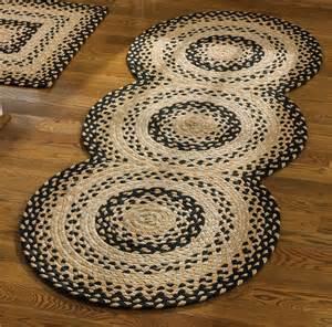 Braided Runner Rugs cornbread braided rug runner