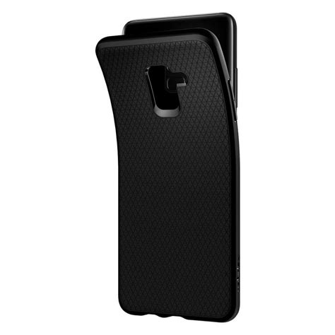 Original Spigen Liquid Air Armor Galaxy A8 2018 Matte Black spigen 174 liquid air 591cs22757 samsung galaxy a8 plus 2018 matte black spaceboy