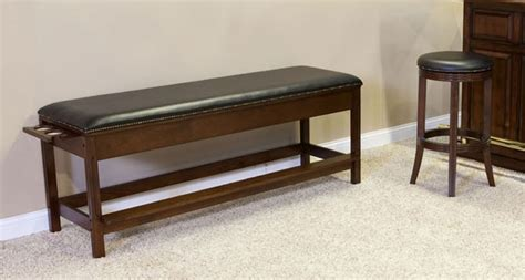 billiards spectator bench furniture america billiards pool tables game tables services accessories