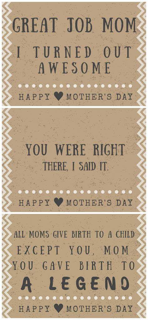 printable mom quotes funny mother s day poem card printables hilarious quotes