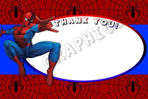 Spider Card Template by Cool Pose Thank You Cards Various Stunning
