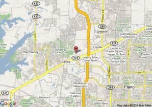 Comfort Inn Austin Map Of Westin Stonebriar Resort Frisco