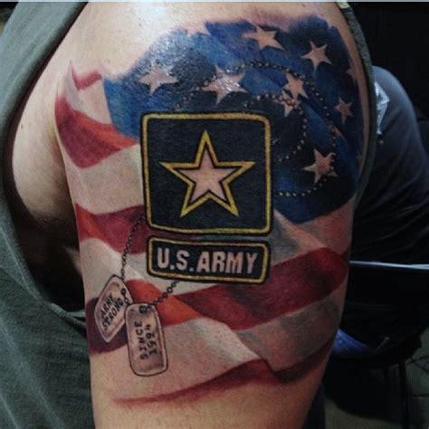 tattoo army man 30 us army flag tattoos