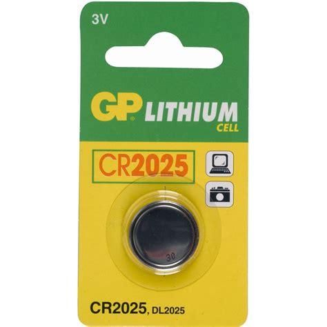 Gp Baterai Cr2025 Battery Batre Lithium Cr2025 1 gp batteries knopfzelle cr2025 lithium 3 0 v 1er pack
