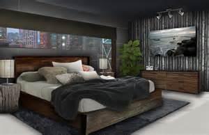 bedroom sets for men rebecca jensen 187 bachelor s bedroom