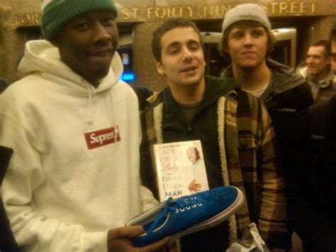 tyler the creator house tyler the creator lost his shoe got his shoe back odd future played fallon and