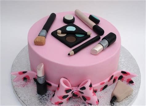 Make Birthday Cake by Makeup Cake Design Mugeek Vidalondon