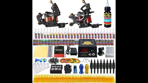 tattoo kit unboxing unboxing dragonhawk complete tattoo kit 2 pro machines