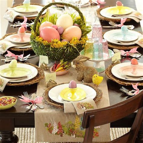 Easter Decorating Ideas Table Setting by Easter Table Decorations Awesome Table Setting Ideas