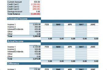 9 bi weekly budget template