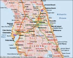 central florida city map areas we service