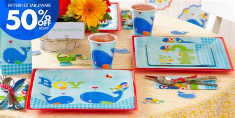 City Baby Shower Themes For Boys by Ahoy Baby Boy Baby Shower Supplies City Ahoy