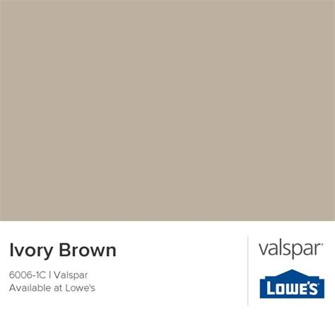 master bedroom option 3 ivory brown from valspar paint colors