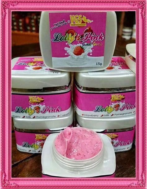 Sweet Scrub menjual produk kecantikan dan kesihatan lolly s pink