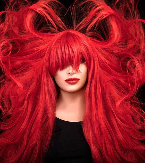 blood hair color 49 of the most striking hair color ideas