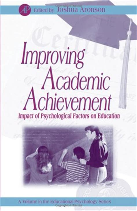 psychology and achievement books joshua aronson
