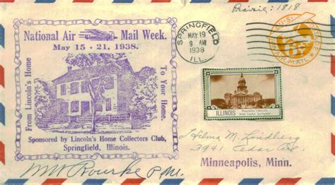 namw national air mail week il