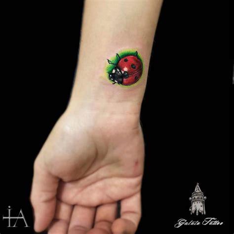 ladybug wrist tattoos 29 impressive ladybug wrist tattoos