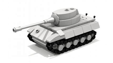 Mini Onarım Auto King by King Tiger Mini Tank Tiger Ii A Lego 174 Creation By Tamas