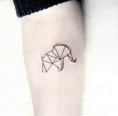 geometric tattoo tiny the 25 best ideas about geometric elephant tattoo on