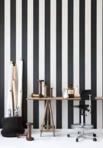 Black And White Striped Wall Awl In Good Taste Black And White Striped Walls