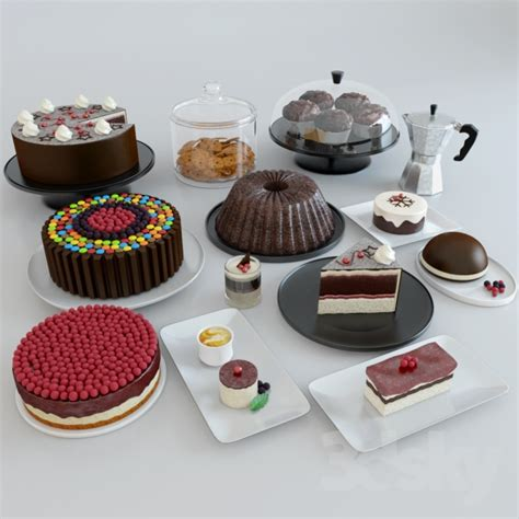3d models: Food and drinks   Cakes And Desserts