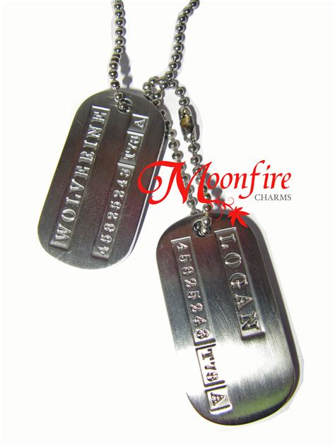 wolverine tags wolverine tag moonfire charms