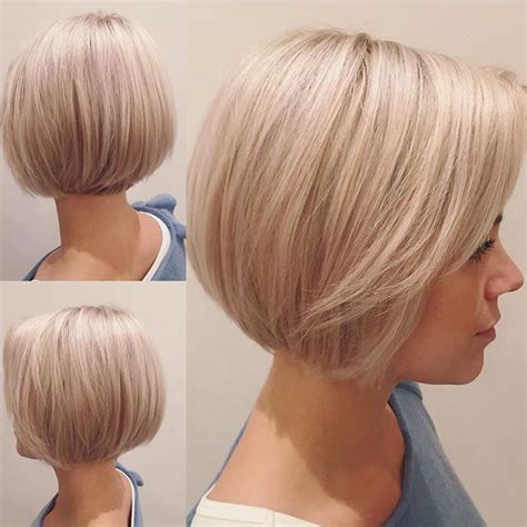 One Length Hairstyles by One Length Bob Hairstyle Front And Back