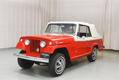 classic jeep convertible 1968 jeep jeepster convertible hyman ltd classic cars