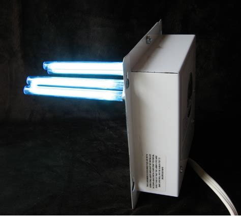 uv light for home furnace air ducts sterilizes a c cleaner purifier