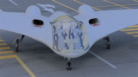 blender tutorial aircraft delta civilian horten style aircraft blender 3d model