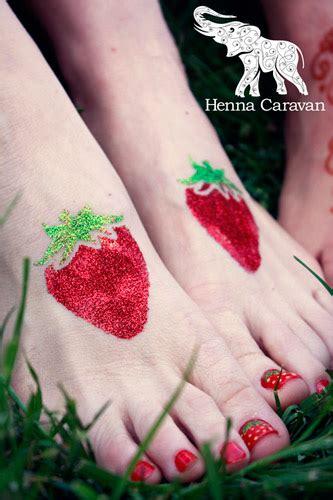 Henna Sehnaaz Strawberry unique strawberry on by henna caravan