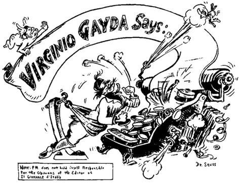 holocaust tattoo cartoon dr seuss cartoon from 30 jan 1941