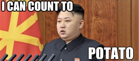I Can Count To Potato Meme - i can count to potato littlekim quickmeme