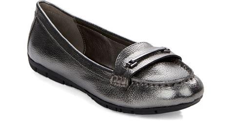 bandolino loafers bandolino niverta loafers in gray lyst