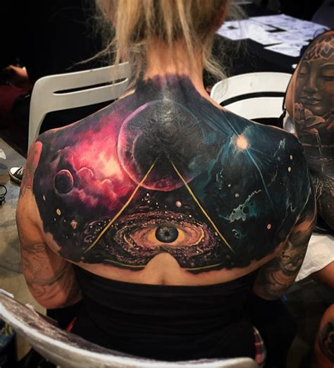 galaxy tattoo meaning 40 space ideas spiritual awakening symbols and