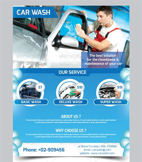 Car Wash Flyer 33 Free Psd Eps Indesign Format Download Free Premium Templates Car Wash Flyer Template Free