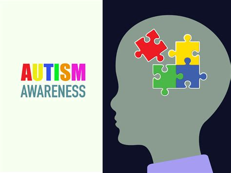 Autism Awareness Backgrounds Educational Health Templates Free Ppt Backgrounds And Autism Powerpoint Template Free