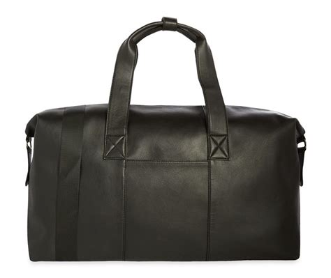 Large Printed Holdall From Primark by New Collection Of Black Weekender Holdall By Primark